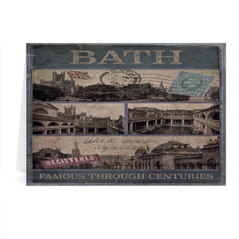 Bath, Famous Through Centuriies Greeting Card 7x5