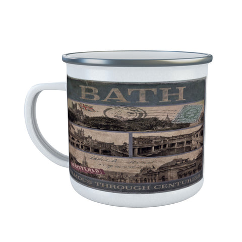 Bath, Famous Through Centuriies Enamel Mug