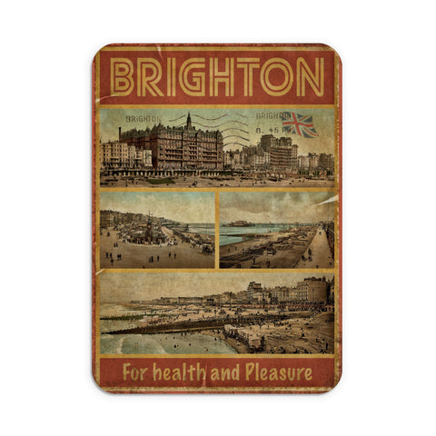 Brighton, For Health and Pleasure Mouse Mat