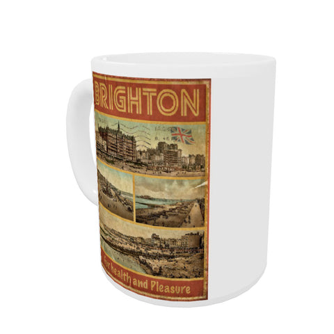 Brighton, For Health and Pleasure Mug