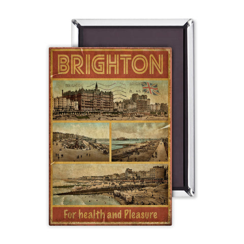 Brighton, For Health and Pleasure Magnet
