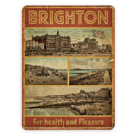 Brighton, For Health and Pleasure Placemat