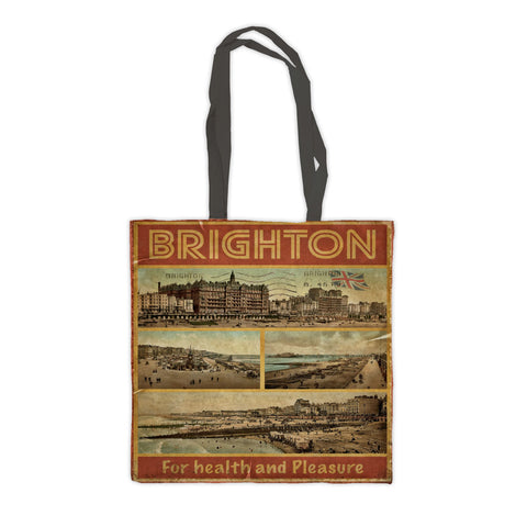 Brighton, For Health and Pleasure Premium Tote Bag