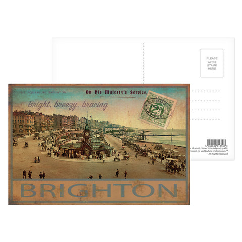 Brighton Postcard Pack