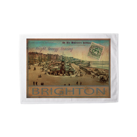 Brighton Tea Towel