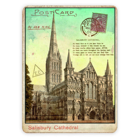 Sailsbury Cathedral, Wiltshire Placemat