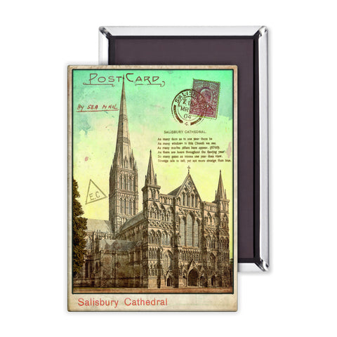 Sailsbury Cathedral, Wiltshire Magnet