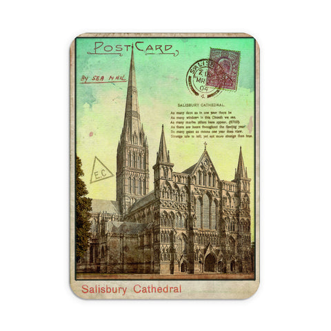 Sailsbury Cathedral, Wiltshire Mouse Mat