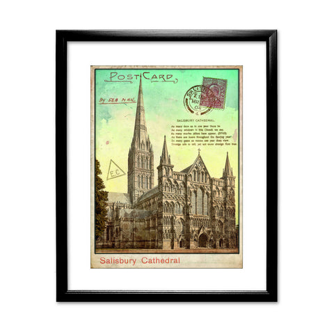 Sailsbury Cathedral, Wiltshire Framed Print