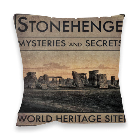 Stonehenge, Wiltshire Fibre Filled Cushion