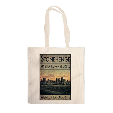 Stonehenge, Wiltshire Canvas Tote Bag