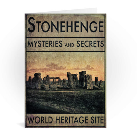 Stonehenge, Wiltshire Greeting Card 7x5