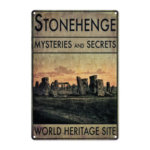 Stonehenge, Wiltshire Metal Sign