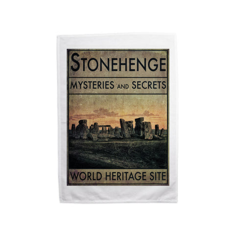 Stonehenge, Wiltshire Tea Towel