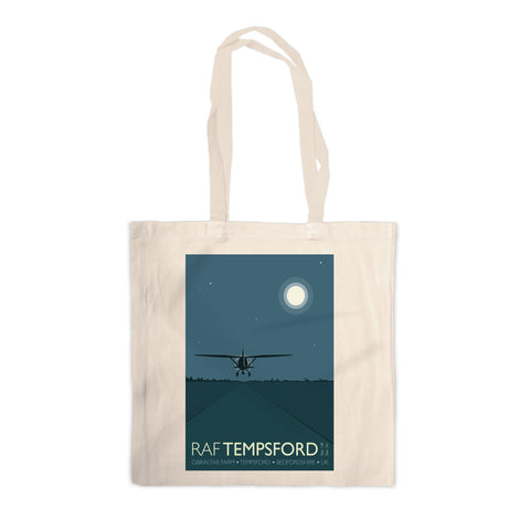 RAF Tempsford, Bedfordshire Canvas Tote Bag