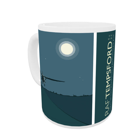 RAF Tempsford, Bedfordshire Coloured Insert Mug