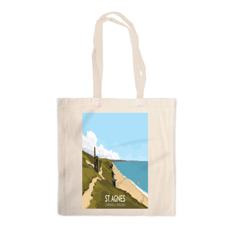St Agnes, Cornwall Canvas Tote Bag