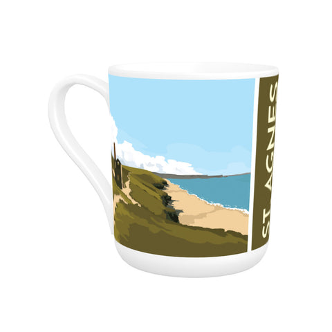 St Agnes, Cornwall Bone China Mug