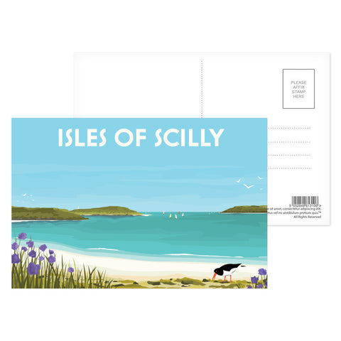 Isles Of Scilly Postcard Pack