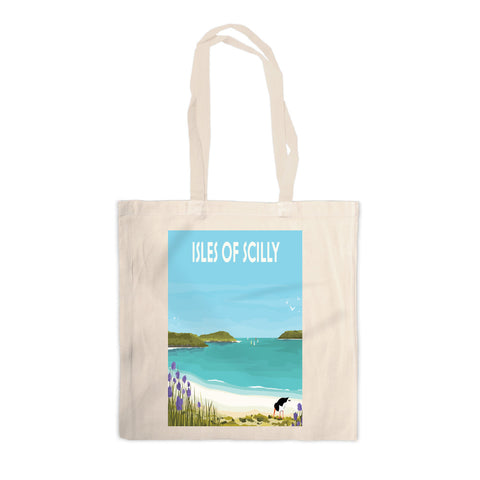 Isles Of Scilly Canvas Tote Bag