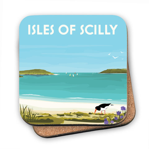 Isles Of Scilly MDF Coaster