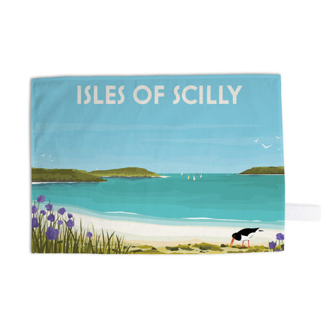 Isles Of Scilly Tea Towel
