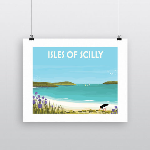 Isles Of Scilly 90x120cm Fine Art Print