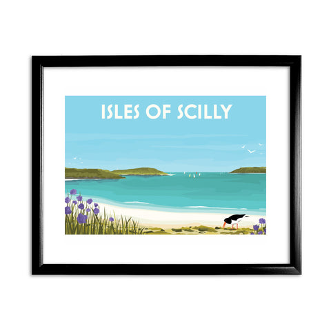 Isles Of Scilly 11x14 Framed Print (Black)