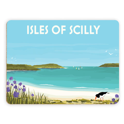 Isles Of Scilly Placemat