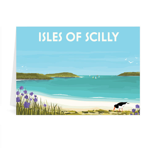 Isles Of Scilly Greeting Card 7x5