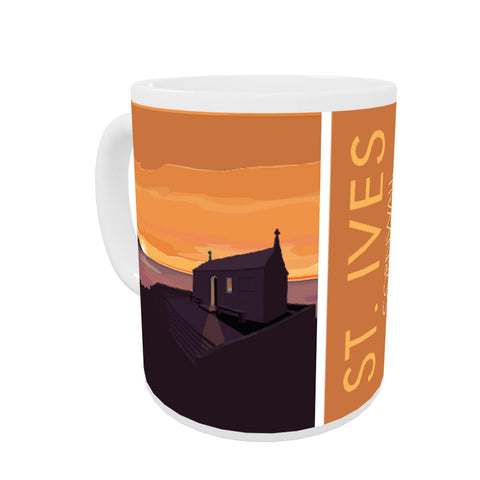 St Ives, Cornwall Coloured Insert Mug
