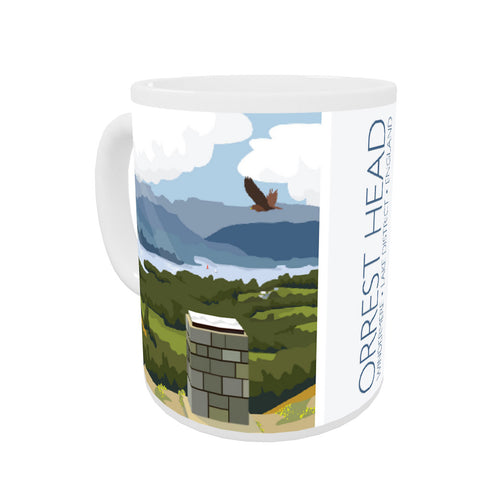 Orrest Head, Windermere, Lake District Coloured Insert Mug