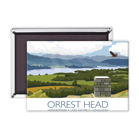 Orrest Head, Windermere, Lake District Magnet