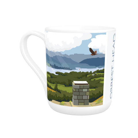 Orrest Head, Windermere, Lake District Bone China Mug