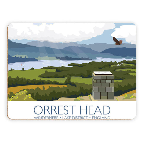 Orrest Head, Windermere, Lake District Placemat