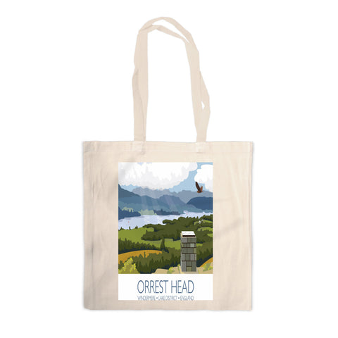 Orrest Head, Windermere, Lake District Canvas Tote Bag