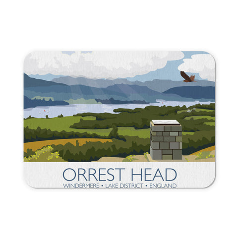 Orrest Head, Windermere, Lake District Mouse Mat