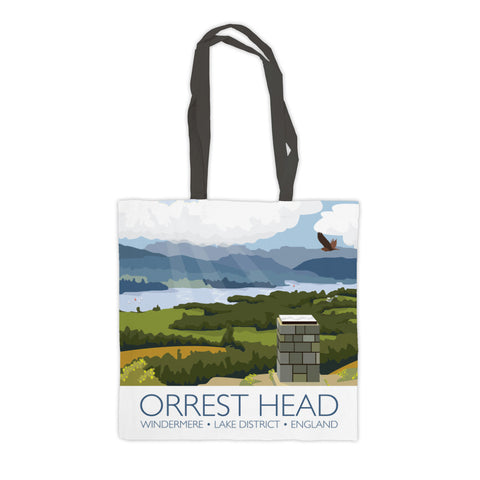 Orrest Head, Windermere, Lake District Premium Tote Bag