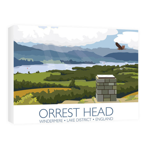 Orrest Head, Windermere, Lake District 60cm x 80cm Canvas