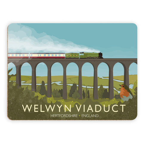 Welwyn Viaduct, Hertfordshire Placemat
