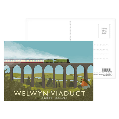 Welwyn Viaduct, Hertfordshire Postcard Pack