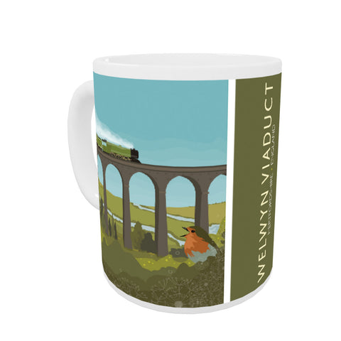 Welwyn Viaduct, Hertfordshire Coloured Insert Mug