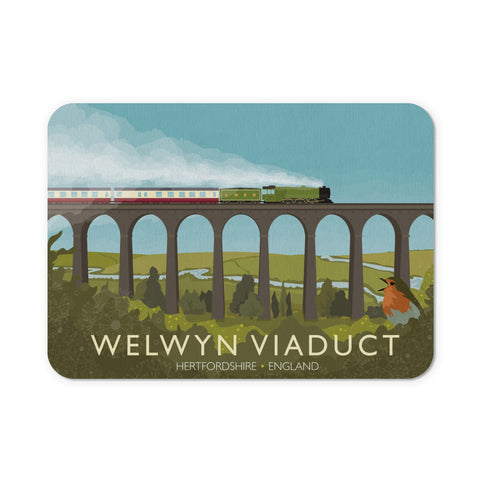 Welwyn Viaduct, Hertfordshire Mouse Mat
