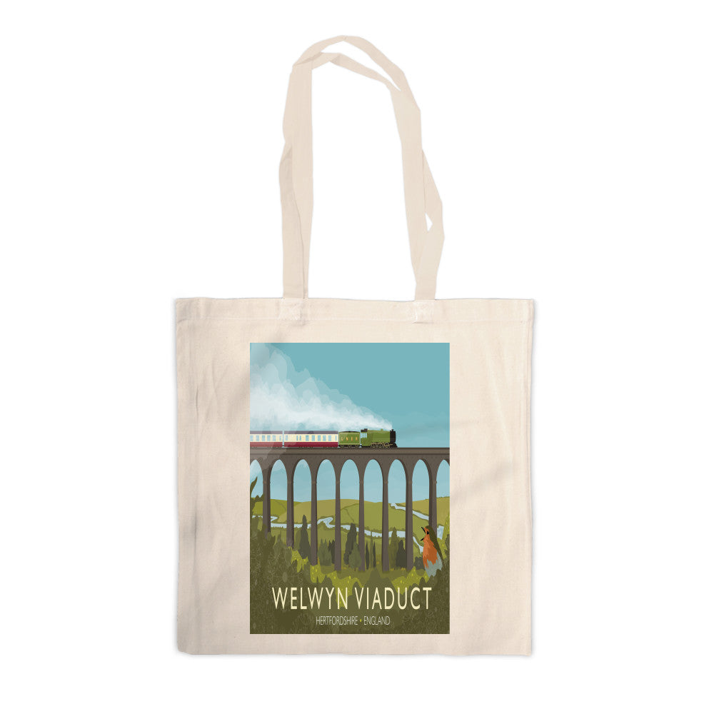 Welwyn Viaduct, Hertfordshire Canvas Tote Bag