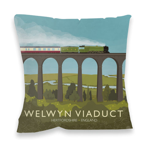 Welwyn Viaduct, Hertfordshire Fibre Filled Cushion