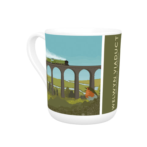 Welwyn Viaduct, Hertfordshire Bone China Mug