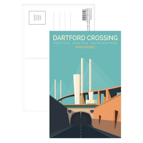Dartford Crossing, Kent & Essex Postcard Pack