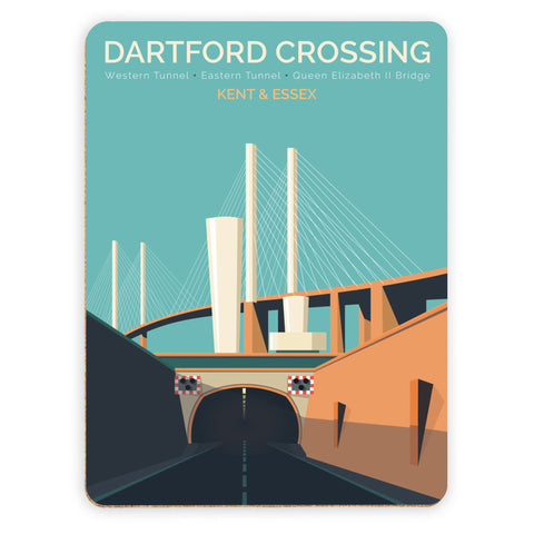 Dartford Crossing, Kent & Essex Placemat