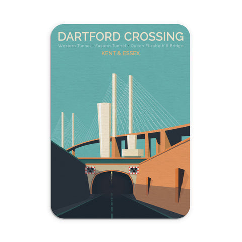 Dartford Crossing, Kent & Essex Mouse Mat