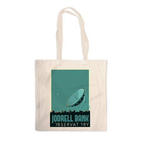 Jodrell Bank Observatory Canvas Tote Bag